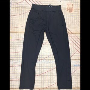 Pony slim track pants size small